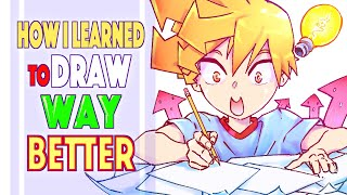 How I Learned To Draw Way Better   How To Draw   Sketchbook Tour