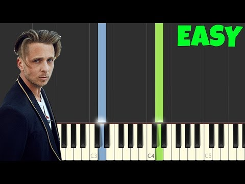 Apologize - One Republic [Easy Piano Tutorial] (Synthesia/Sheet Music)