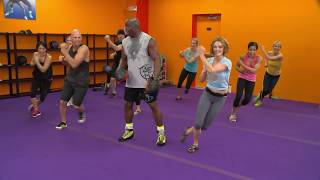 Billy Blanks Tae Bo® Advanced YouTube Exclusive(Join Billy for a fun, powerful, total body Tae Bo® workout. Visit www.taebo.com for more, or download Billy's Tae Bo® DVDs at the links below., 2014-01-27T19:37:40.000Z)