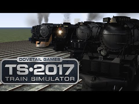 Train Simulator 2017 - Mighty American Locomotives (RACE!)