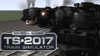 Train Simulator 2017 - Mighty American Locomotives (RACE!)