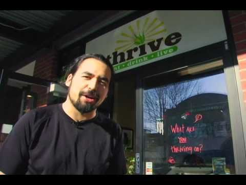 Thrive Raw Food Restaurant in Seattle - Organic, Wheat Free Gluten Free Goodness