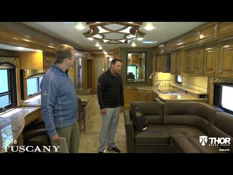 2016 Tuscany Luxury Class A Diesel Pushers from Thor Motor Coach