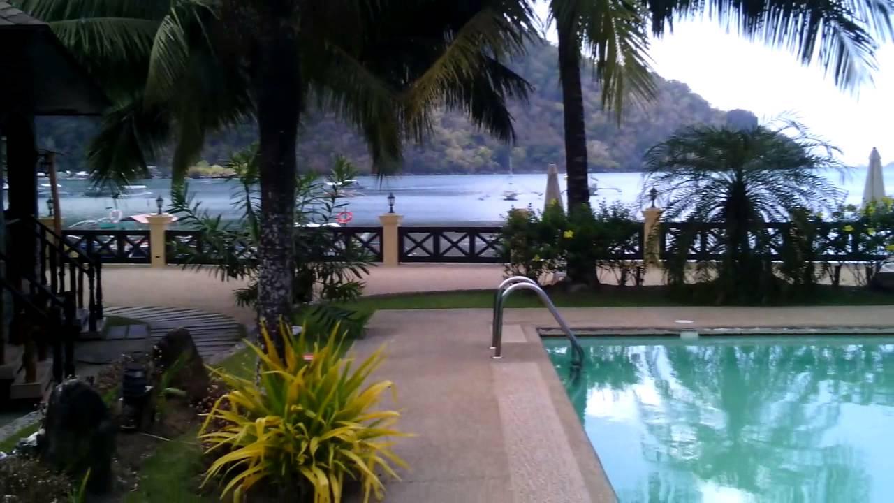 ELNIDO GARDEN BEACH HOTEL PALAWAN PHILIPPINES YouTube