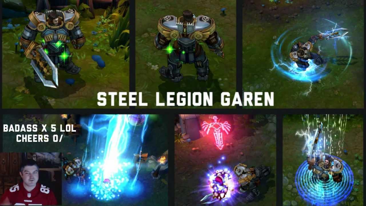 Steel Legion Garen Steel Legion Garen League of