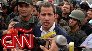Juan Guaidó: Tenemos el apoyo de un gran número de las fuerzas militares