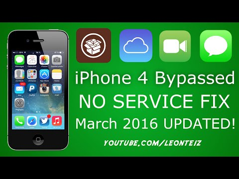 How to fix No Service - On Any iPhone 4 (iOS 7.1.2)