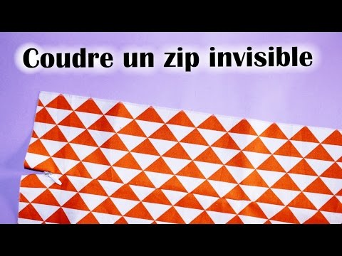 Coudre une fermeture invisible youtube - Coudre une fermeture invisible ...