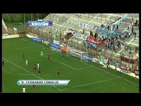 Gol de Coniglio. Rosario Central 1 - Central Córdoba 1. 24avos de Final. Copa Argentina 2013. FPT