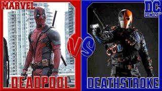 Дэдпул VS Дэфстроук