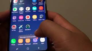 Обложка Samsung Galaxy S8 How To Send An SMS Message To A Group