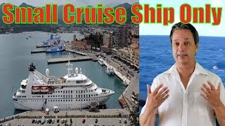 Ten Great Things about small cruise ships  - Top 10 things about small cruise ships