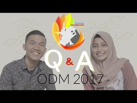 Q&A ODM 2017