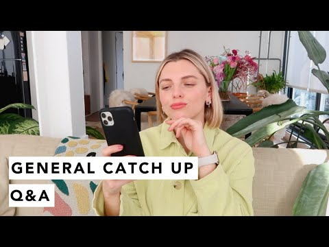 GENERAL CATCH UP Q&A | Estée Lalonde