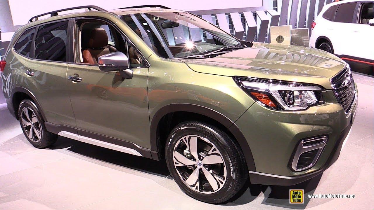 2019 Subaru Forester Touring Exterior And Interior Walkaround