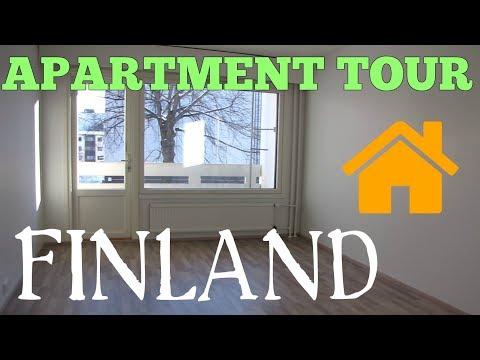 APARTMENT TOUR (English subtitles) | Mieszkanie w Finlandii, standard i ceny wynajmu
