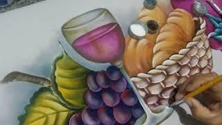 Como pintar taça de vinho – dicas de pintura para iniciantes