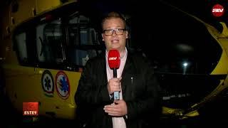 Mentőhelikopter okozott durva balesetet Pest megyében