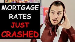 Mortgage Rates Just Crashed. I Explain Why