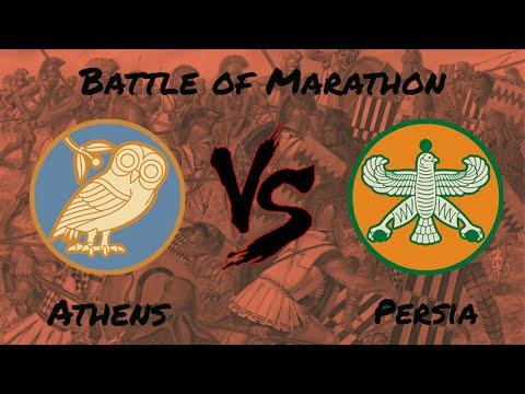 Rome 2 Total War: Wrath of Sparta - Battle of Marathon  