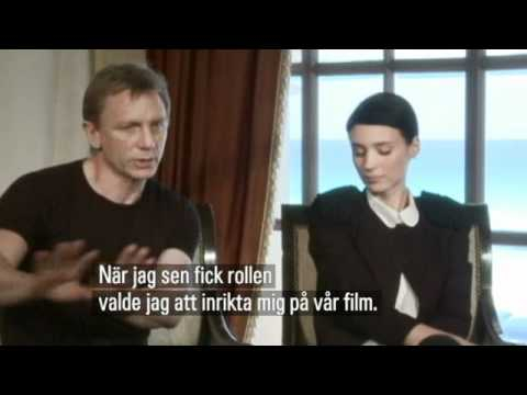 Rooney Mara & Daniel Craig - The Girl with the Dragon Tattoo Interview