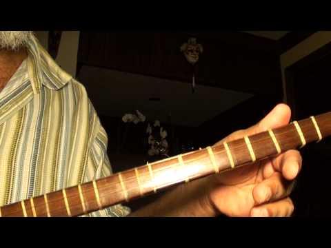 "Persian Setar tuning whole tone scale گام تمام پرده ای ""دبوسی"" با سه تار"