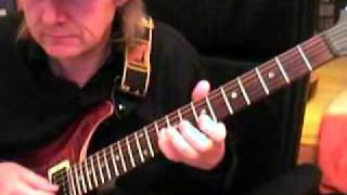 Deep Purple Strange Kind of Woman Guitar Lesson by Siggi Mertens