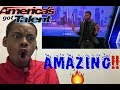 """Johnny Manuel: Guy Covers Whitney Houston's """"I Have Nothing"""" - America's Got Talent 2017 - Reaction"""