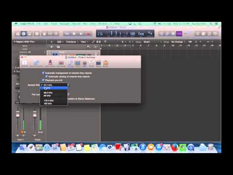 How to Record Audio in Logic Pro X