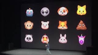 Apple et les animojis