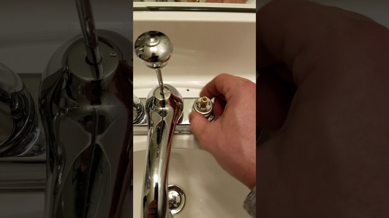 Leaky Delta Faucet Quick Fix - YouTube
