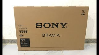 Sony 32-inch HD Smart TV Unboxing