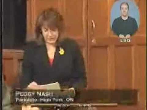 NDP:Peggy Nash on RADARSAT