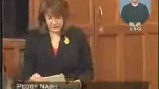 NDP:Peggy Nash on RADARSAT
