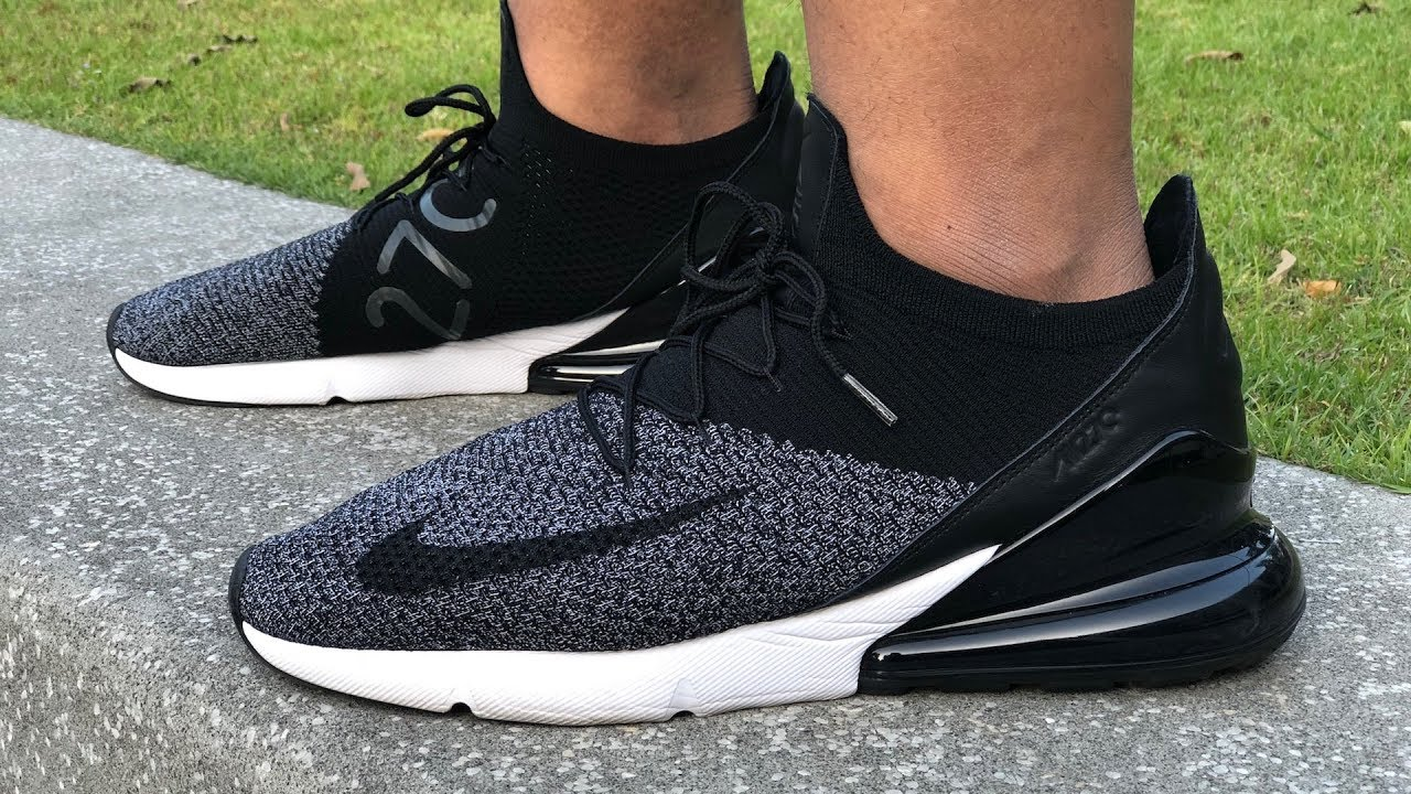 10b29ab7fb143 Nike Air Max 270 Flyknit On-feet Review: Best-in-Class Everyday Lifestyle  Sneaker? - YouTube