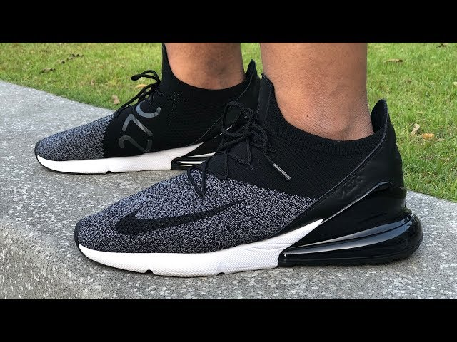 new arrival 35444 fe9b5 Nike Air Max 270 Flyknit On-feet Review  Best-in-Class Everyday Lifestyle  Sneaker  - YouTube