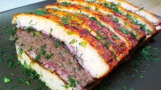 Закуска ВМЕСТО КОЛБАСЫ на праздничный стол и на бутерброд Домашнее мясное ассорти вместо нарезки