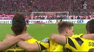 DFB Pokal Halbfinale 2015 Elfmeterschießen FC Bayern München - BVB Dortmund