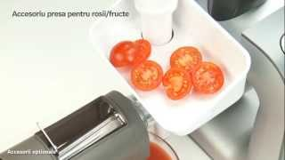 Repeat youtube video Robotul de bucatarie MUM 5 Styline: rezultate excelente şi design perfect