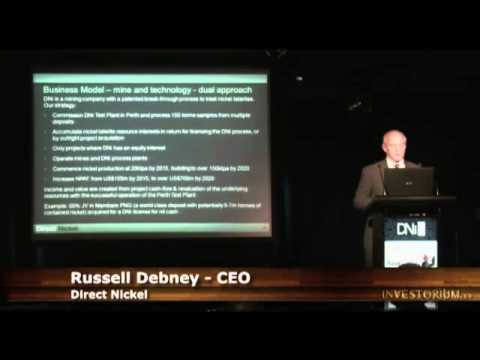 INVESTORIUM: Direct Nickel (DNi) CEO Russell Debney Presents DNi
