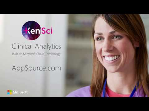KenSci Clinical Analytics on Microsoft AppSource