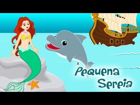 A Pequena Sereia em Português - Historia completa - Desenho animado