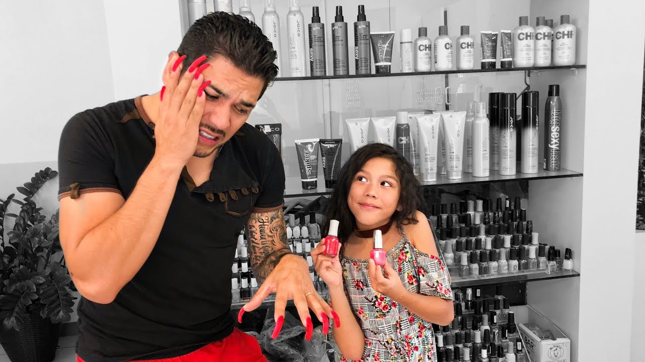my-dad-gets-acrylic-nails-first-time-familia-diamond