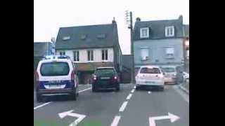 Course poursuite dans Coutances