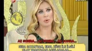 Seda Sayan Erol Köse'ye cevap verdi (Video 1)