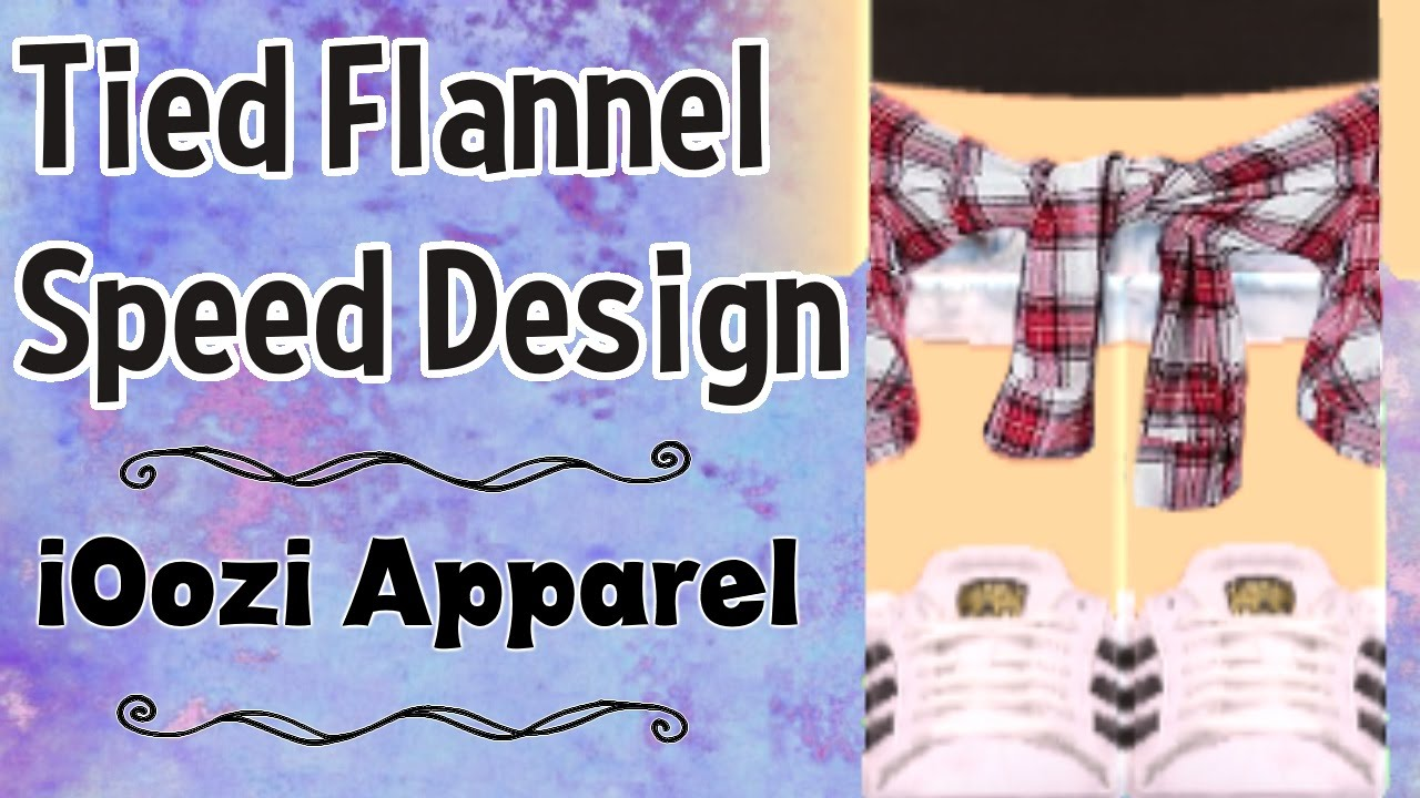 tied flannel speed design