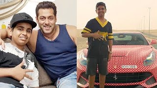 Salman Khan With Dubai's Richest Kid Rashed Belhasa