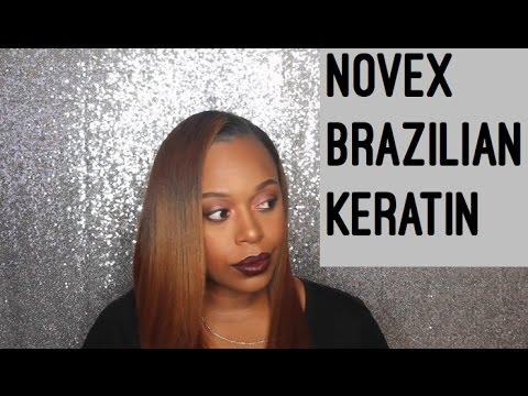 Novex Brazilian Keratin Natural Hair