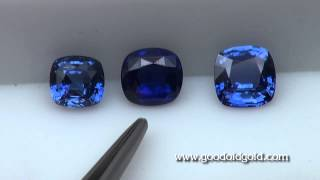 Baixar Comparing Three 3ct Blue Sapphire
