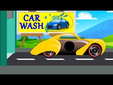 Kids TV channel |sports car | car wash